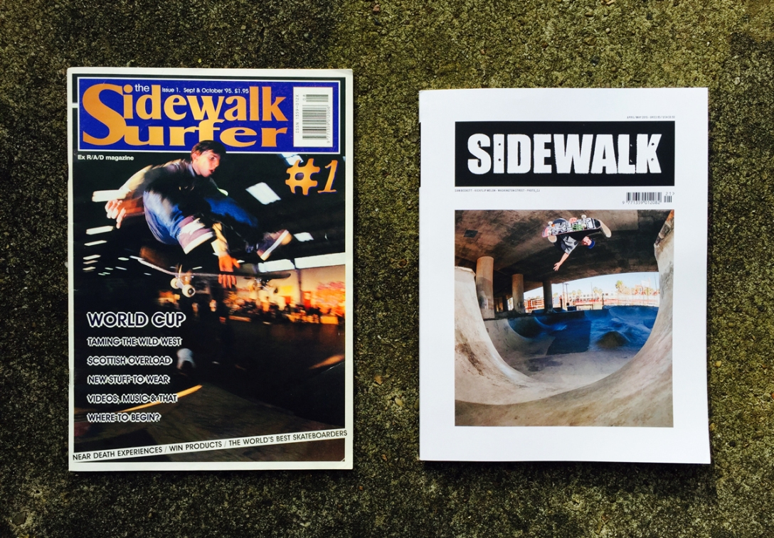 sidewalk-magazine-issue-1-cover-tom-penny-kickflip-radlands-sidewalk-magazine-issue-221-last-cover-sam-beckett-%22kickflip-melon-in-kickflip-melon-out-photo-wig-worland-chris-johnson
