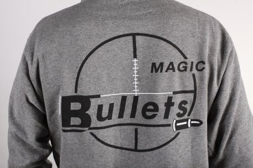 Theories of Atlantis Magic Bullets hood grey close up