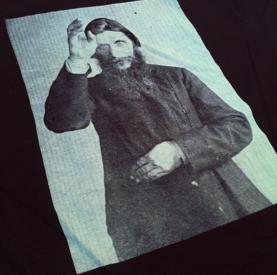 Theories of Atlantis TOA Rasputin t-shirt graphic Speedway Skateboarding Magazine