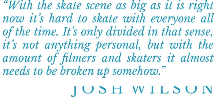 Josh Wilson interview pull quote Speedway Mag