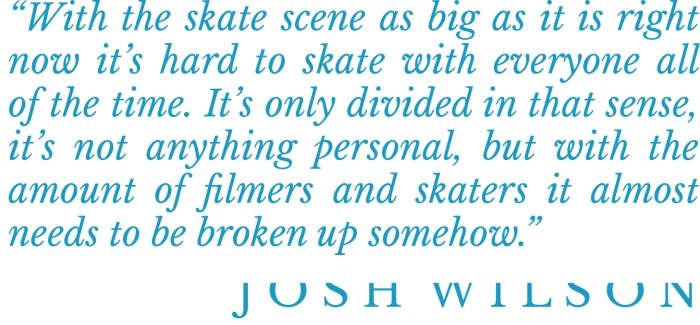 Josh Wilson interview pull quote Speedway Mag