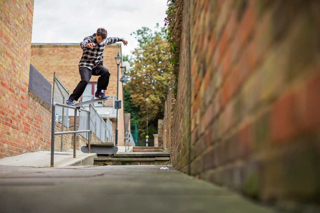Tom Knox, Kicker to Crooked Grind, Photo - Reece Leung