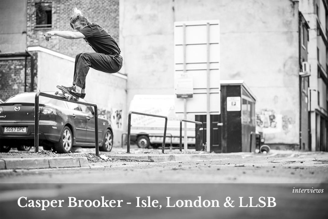 Casper Brooker Isle Skateboards Vase interview home image Speedway Skateboarding Magazine