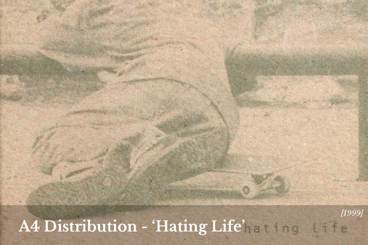 Hating Life Neil Chester A4 distribution full video home image speedway skateboarding magazine