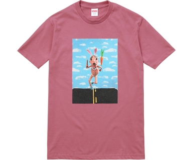 Mike Hill for Supreme New York Spring 2017 Runner T shirt Speedway Skateboarding Magazine