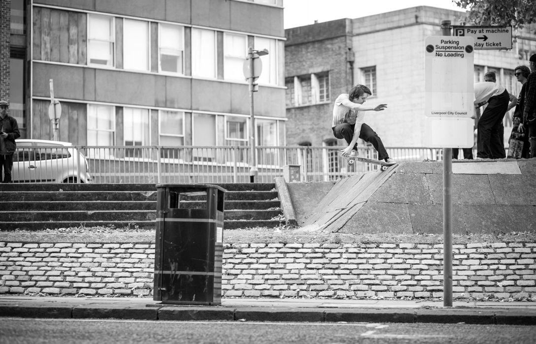 Luke Fletcher Crailslide Scaff banks Liverpool photo Chris Johnson