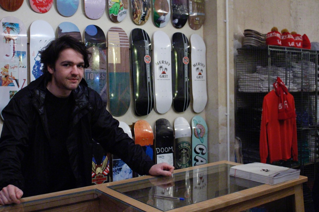 Luke Fletcher The Useless Wooden Toys Society Speedway Skateboarding Magazine Lost Art Interview
