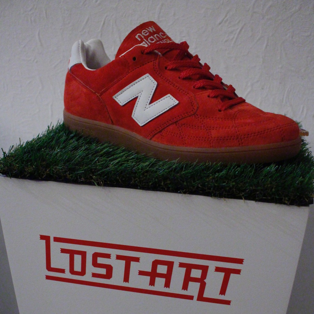 New Balance Lost Art collaboration shoe Speedway Skateboarding Magazine