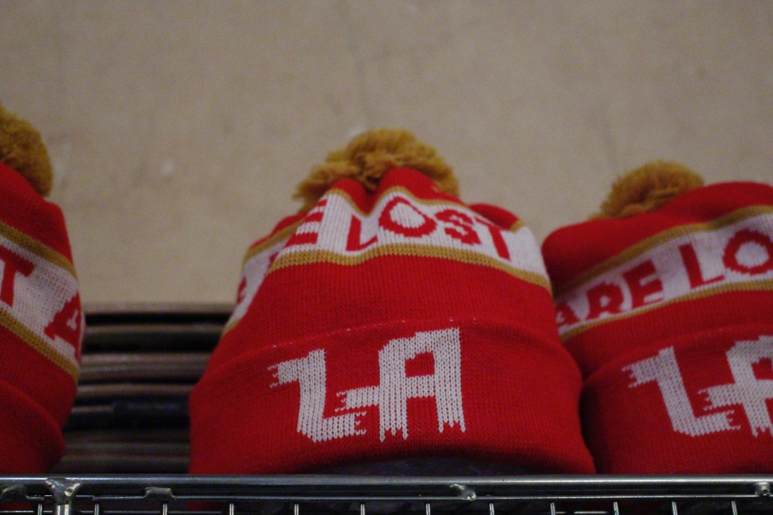 New Balance x Lost Art beanies The Useless Wooden Toys Society Speedway Skateboarding Magazine David Mackey Interview