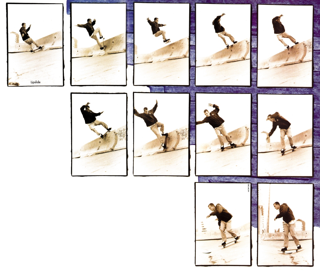 Greg Hunt Lipslide Sequence Transworld March 1998