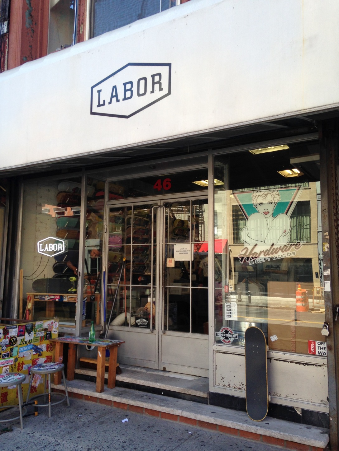 Labor Skate Shop New York City James Rewolinski Interview photo Farran Golding
